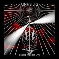 "UNHEILIG ""GROSSE FREIHEIT LIVE"" CD 13 TRACKS NEW+"