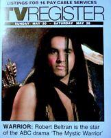 TV Guide 1984 Mystic Warrior Robert Beltran Regional TV Register OC VG COA