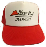 Pizza Delivery Hat trucker hat mesh hat adjustable red new