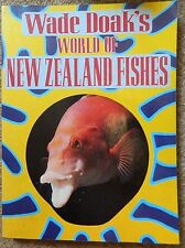 WADE DOAK'S WORLD OF NEW ZEALAND FISHES 223 PAGES PAPERBACK VGC