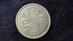 English Silver Florins / Two Shillings 1920 - 1946