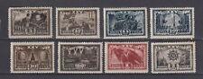 URSS RUSIA  1943 MI 847-854 MNH