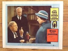 Charles Laughton & Elsa Lanchester Witness For The Prosecution 1958 Billy Wilder