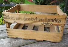 alte Weinkiste aus Holz - Wein aus deutschen Landen - dreiso