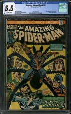 Amazing Spider-Man #135 CGC 5.5 (OW) 2nd appearance of the Punisher
