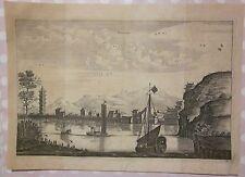 1668 NANGAN Nan'an 南岸 acquaforte Johan Nieuhof van Meurs Yangtze 长江 Cháng Jiāng