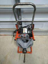 38x100 Ridgid K 400 T2 Drain Cleaning Drum Machine Autofeed 120v Ed4u 9065