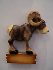 """""""ROGER RAMJET"""" BIGHORN SHEEP MAGNET  ~ NEW ~ CUTE ~ FREE PERSONALIZATION"""