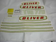 Oliver 770 Diesel Tractor Decal Set NEW - FREE SHIPPING