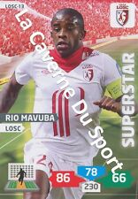 LOSC-13 RIO MAVUBA # LILLE CARD ADRENALYN FOOT 2014 PANINI