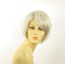 Perruque femme blanche cheveux lisses ref LANA 60
