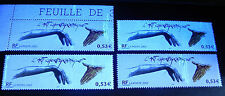 FRANCE lot 4 ex Art Chorégraphique N°3507a**  VARIETES différentes de phosphore