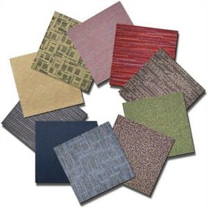 "QUICK SHIP GRAB BAG MIX N' MATCH 24"" X 24"" FLOOR CARPET TILES - 10 TILE BOX"