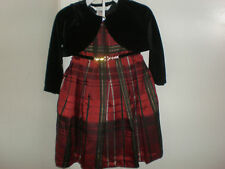 PIPPA & JULIE 18 MOS. HOLIDAY PARTY DRESS NWT