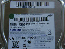 250 GB Samsung Spinpoint HD252HJ / 61893-A72A-AL4TF / 2010.04 - Hard Disk Drive