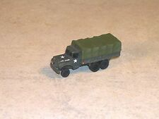 N Scale Military OD Green 5 Ton Cargo Truck