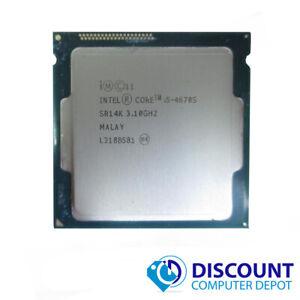 Intel Core i5-4670S 3.1GHz Quad-Core CPU Computer Processor LGA1150 Socket SR14K