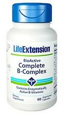 3X $8.88 Life Extension BioActive Complete B-Complex 3 month supply vitamin B
