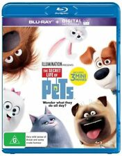 The Secret Life Of Pets (BluRay+Ultraviolet) - Brand New & Sealed
