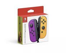 Joy-Con (L/R) Wireless Controllers for Nintendo Switch - Neon Purple/Neon Orange