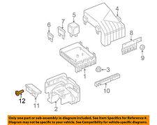 VW VOLKSWAGEN OEM 09-17 Tiguan 2.0L-L4 Fuse Relay-Bracket Bolt N90767602