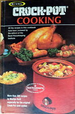 Vintage Cookbook RIVAL CROCK*POT COOKING Marilyn Nell 1975 over 300 recipes