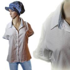 VERO MODA Casual Vintage Bluse Shirt Gepunktet Luftig 100 % Baumwolle Gr.38 40 M