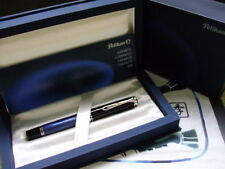 Pelikan M805 Blue/Black Fountain Pen with M nib (Discontinued - NOS)