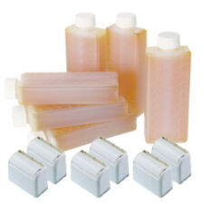Hive 6 x Depilatory Warm Honey Creme Cartridge Roller Large Roller Heads HOB6566