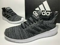 USED ADIDAS Lite Racer BYD Black Sport Men's Sneaker Athletic Shoes ~ Size 8.5