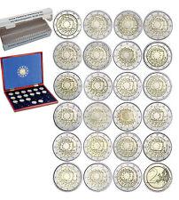 Sparangebot 23 x 2 Euro 2015 bfr Europaflagge Komplett mit Kassette & 50 Kapseln