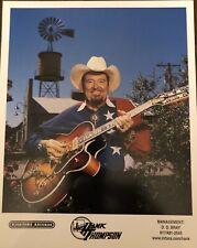 Grand Ole Opry Hank Thompson Color Photo