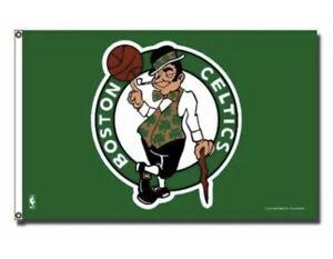Boston Celtics NBA 3X5 Indoor Outdoor Banner Flag w/ grommets for hanging