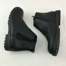 Justice Puupper Booties Girls Shoes Size 5 Black Studded Boots zip