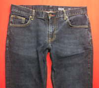 Mens TOMMY HILFIGER Denton Jeans W36 L30 Blue Straight Fit