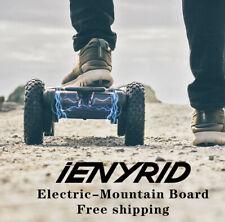 """3300W Motors Outdoor Mountain Off Road 46"""" Electric Skateboard 25MPH Longboard"""