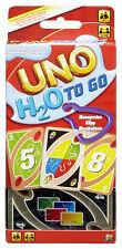 Mattel UNO H2o To Go Kartenspiel