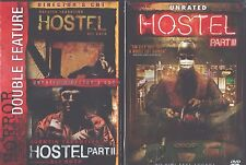 HOSTEL 1- 2- 3: Complete Horror Trilogy Classic- Unrated Versions- NEW 2 DVD'S
