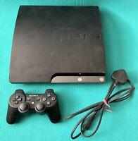 Sony PlayStation 3 Slim Console (PS3) 250gb Black -1 X Wireless Controller