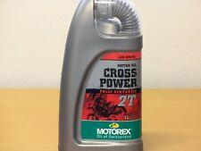 Motorex Cross Power 2T 1 Ltr vollsyn 2 Takt Mischöl für Off Road