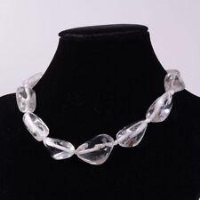 "0122 29-40mm Phantom quartz nugget loose beads 16"""