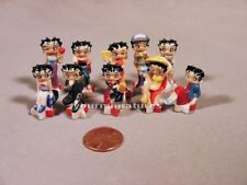 Rock Star Betty Boop Porcelain French Feves Set