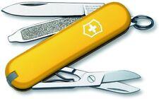 Swiss Army Classic SD Pocket Knife, Victorinox Swiss Army, Yellow