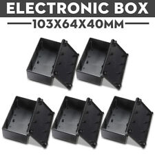 5Pcs ABS Electronic Project Box Enclosure Instrument Case Waterproof 103x64x40mm