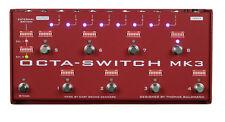 Carl Martin Octa-Switch MK 3 True-Bypass Pedal Switcher Octaswitch