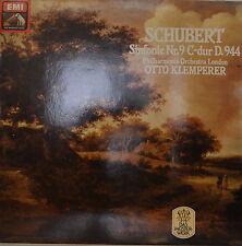 """FRANZ SCHUBERT - SYMPHONY NO.9 - OTTO KLEMPERER 12""""  LP  (R391)"""