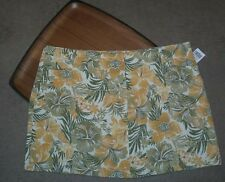 Wet Seal Floral Mini Skirt  Women's Size 7 Mimi Chica Fern  NEW Tropical Beach