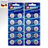 20 x 1,5V LR44 Alkaline Batterien Knopf Zellen  L1154 F AG13 A76S G13A A76 357A