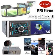 "12V-24V Bluetooth Player Stereo Radio Car 4.1"" MP5 Player Touch Screen FM w/3USB"