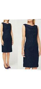 Jacques Vert Lace Chiffon Occasion Dress. Size 10. BNWT RRP £179